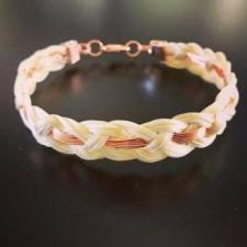 Rosey Horse Hair Bracelet