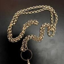 Yellow Gold Chain for Memory Locket