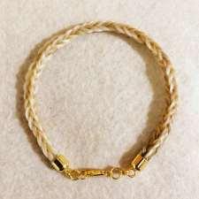 14kt Gold Herringbone Bracelet