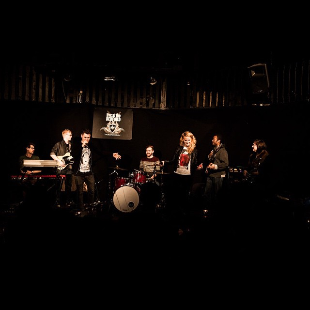 Lucan Mills and Elles Bailey at The Bedford