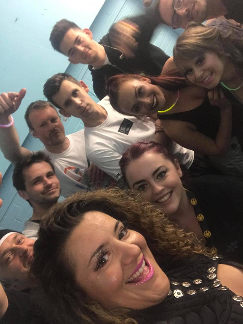 Pre-show backstage selfie (Photo: Kelly Borkertas)