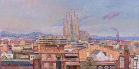 La Sagrada Familia. Barcelona