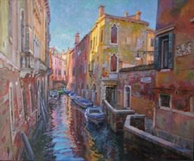 Sotopòrtego del Tamossi. Venecia