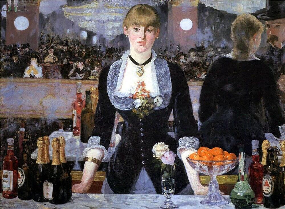 A Bar at the Folies-Bergere, 1882 by Edouard Manet