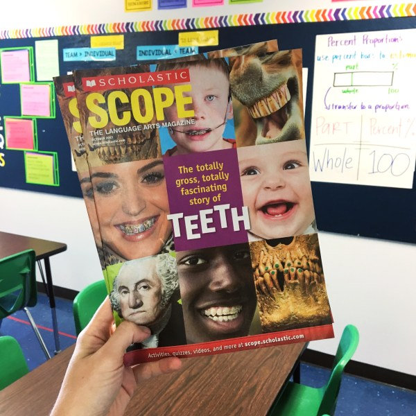 Scholastic Magazines for Middle School - Maneuvering the ...