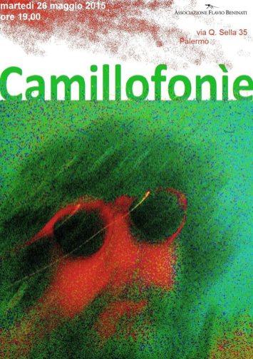 Camillofonìe, 2013, cover