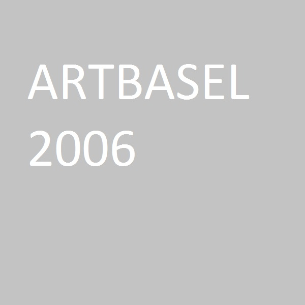 """Living with a rainbow"", ArtBasel, 2006"