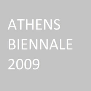 """Triangles in squares made out of circles"", Athens Biennale, 2009"
