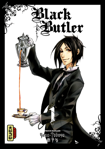 Couverture - Black Butler