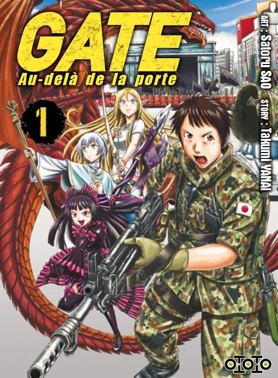 Manga - Manhwa - Gate - Au-delà de la porte Vol.1