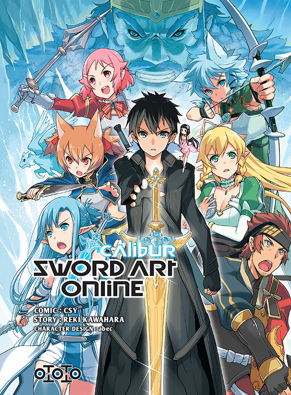 Manga - Manhwa - Sword Art Online - Calibur