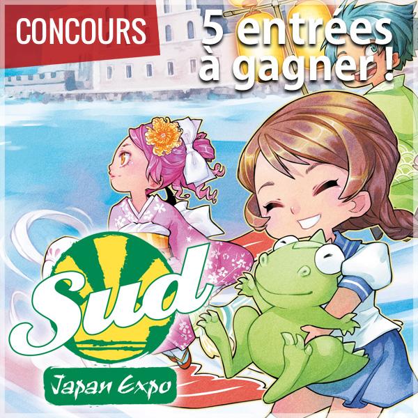 [Concours] Gagnez votre entrée pour JAPAN EXPO SUD 2015 !