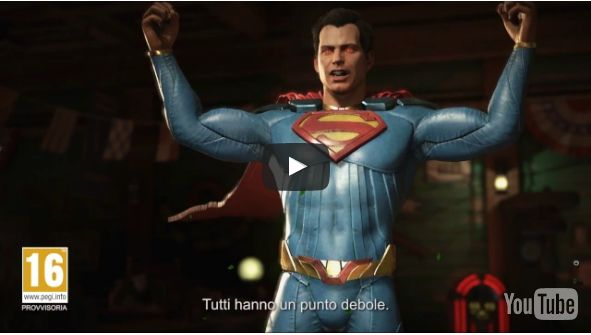 Il nuovo video di Injustice 2 ci mostra il cattivo Superman