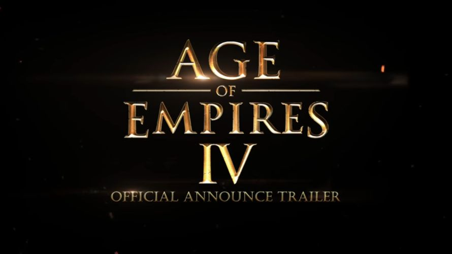 Age of Empires IV annunciato per pc