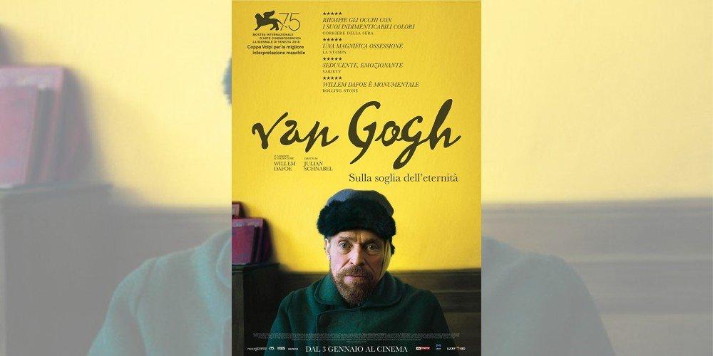 Il film su Van Gogh con Willem Dafoe esce domani