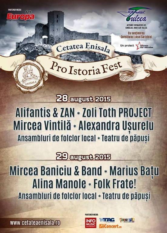 Pro Istoria Fest_Cetatea Enisala-