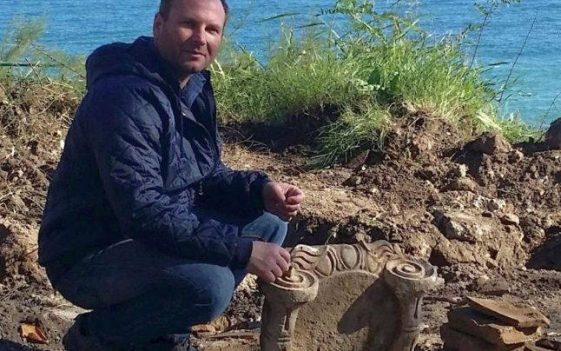 Sorin Colesniuc seful Muzeului de arheologie Callatis din Mangalia Sursa foto Arhiva personală