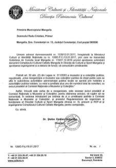 Anexa 13 Directia Patrimoniu Cultural 18 ian 2017
