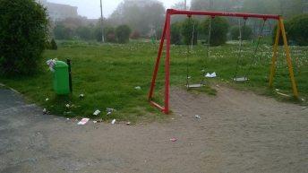 În parcul de la Balnear-5