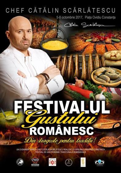 Festivalul Gustului Românesc by Chef Catalin Scarlatescu 5-8 octombrie Constanța