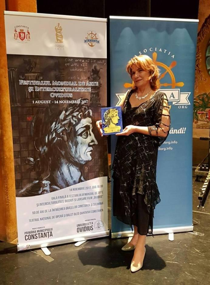Gala Festivalului Mondial de Arte si Interculturalitate OVIDIUS-Mariana-Oleniuc-2