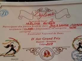 Malina Rugea Premiul1