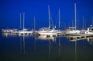Portul turistic Mangalia.
