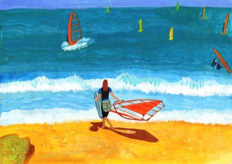 059 Diana Toader 6 C - Lectia de surf