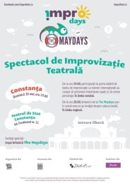 Afis Spectacol !MPRO Days with The Maydays-