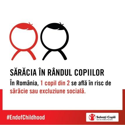 Infografic Salvati Copiii - Riscul de saracie