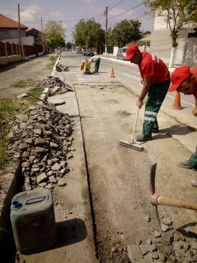 asfaltare străzi Mangalia3