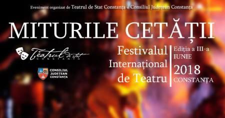 Festivalul International de Teatru Miturile Cetatii2018