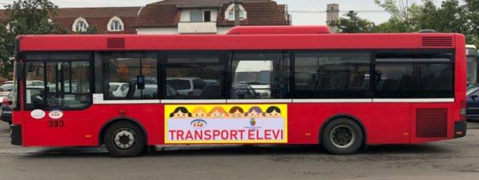 Cluj Autobuze speciale pentru transportul copiilor