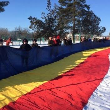 Gimnaziul Volovita La multi ani Romania-1