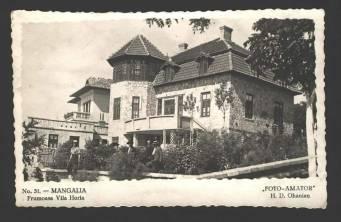 Mangalia - Vila Horia - anii 30