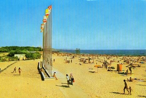 Neptun - Plaja La Steaguri anii 80