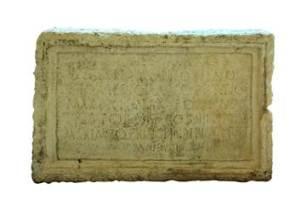 Inscripție dedicată lui Caracalla