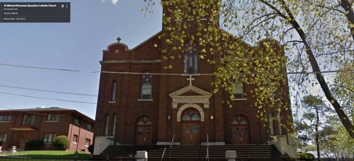 14-Biserica Sfântul Mihail astăzi - imagine luată de pe Google Maps - Photo Historia