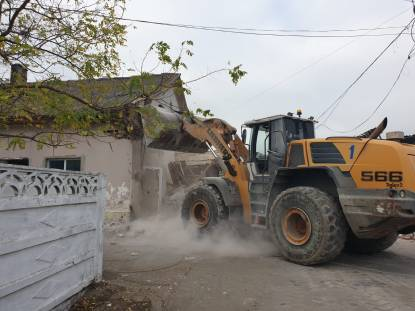 demolare baraci mangalia9