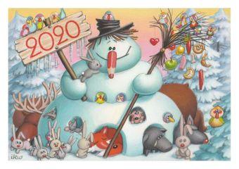 Caricaturiștii lumii & Merry Christmas-01-Izabela Kowalska-Wieczorek