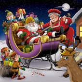 Caricaturiștii lumii & Merry Christmas-17-Guaico Grisales