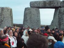 Happy Solstice Solstiţiul de iarnă sărbătorit la Stonehenge (3)