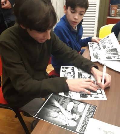 Lansarea nr. 2 al revistei BD Historia - benzi desenate istorice (15) (Medium)