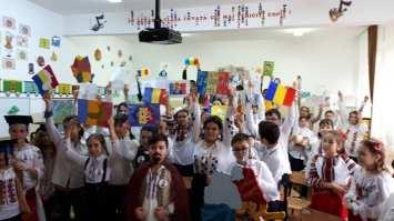 Unirea Principatelor Române sărbătorită de elevii Școlii Gimnaziale Sf Andrei din Mangalia-07