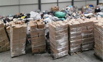 Containere încărcate cu deșeuri, depistate în Portul Constanţa Sud Agigea (2)