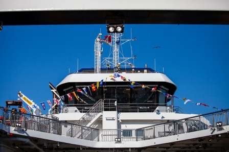 BC Ferries reveals names of two new Damen-built vessels in Victoria naming ceremony (1)