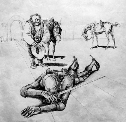 Valentin Tănase - Don Quijote2