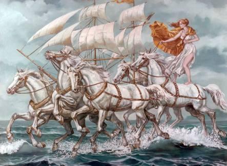 Valentin Tănase - caii marini