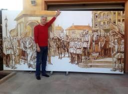 Valentin Tănase - compozitie istorica