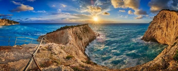 Alex Brighila - Apus pe Marea Ionică